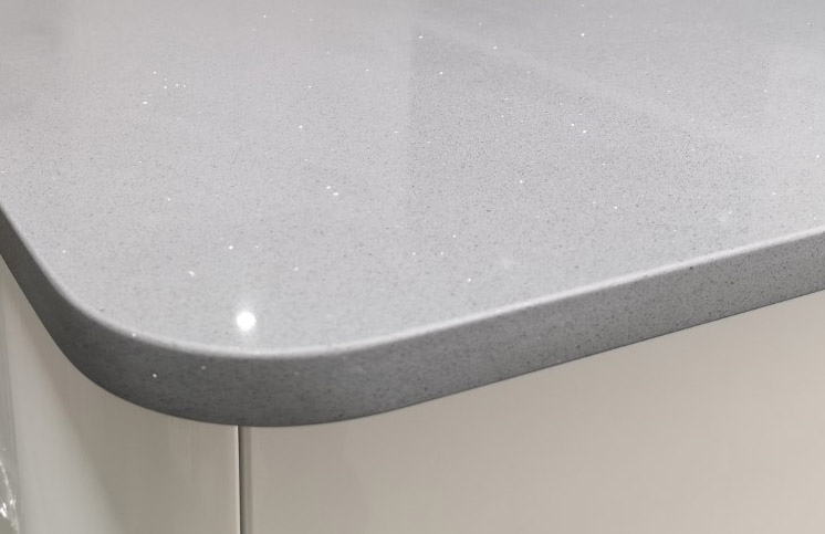 CD 100mm rounded corner worktop