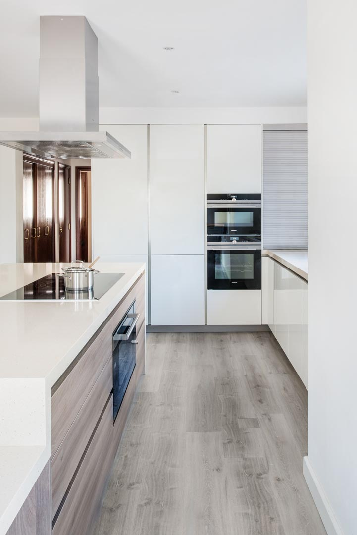 Quartz Worktops used in Kitchens
